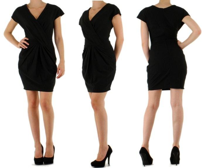 sorte kjoler fest