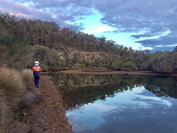 Yowaka River Sunset Pambula Lake