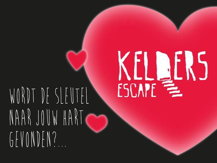 Ben jij single tussen de 20/30 jaar en opzoek naar de ware liefde. Kom dan op 14 februari 2016 naar Kelders escape! Tussen 18:00 en 24:00 uur organiseren wij voor jou een te gekke avond en dat voor maar 10,- euro! Wat kan je verwachten: - 1 Gratis consumptie - De escape room  - Een hele gezellige avond! Geef je op via keldersescape@Gmail.com vermeld daarbij: - Naam - Geslacht - Homo- of Heteroseksueel - Leeftijd