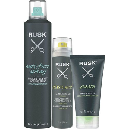 Image of Rusk Styling Collection Anti-Frizz Trio