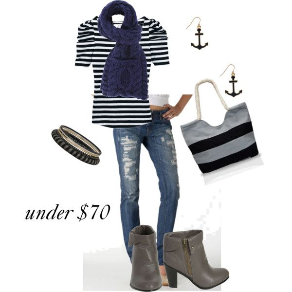 nautical look under $70, created by jenniferbell-1