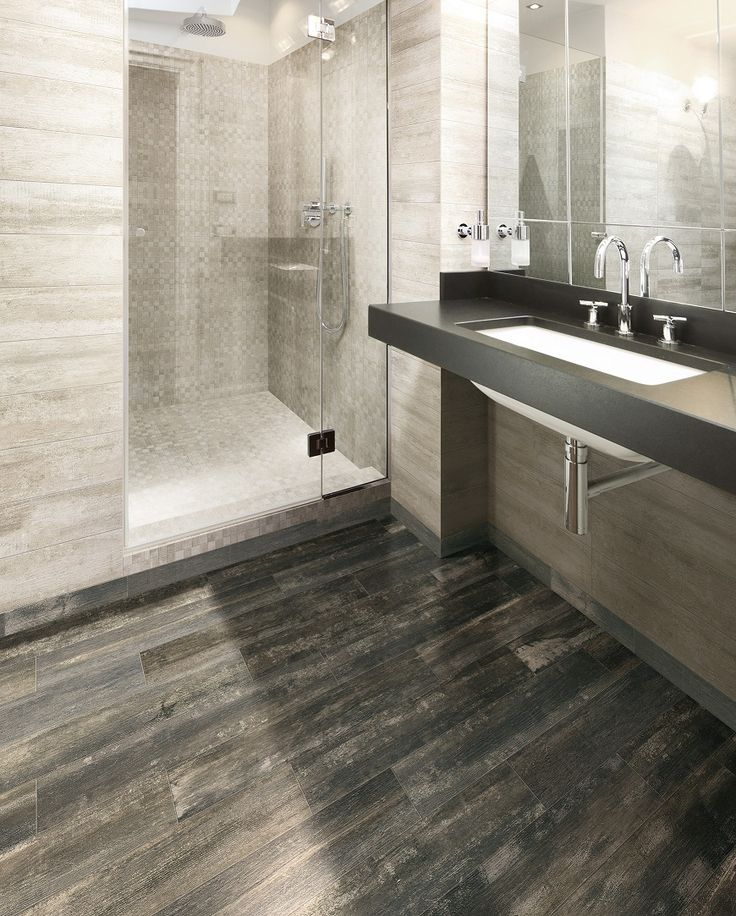 This stylish bathroom features tiles from Beaumont Tiles. For more bathroom design inspiration, check out: http://www.beaumont-tiles.com.au/RoomIdeas.aspx?room=Bathrooms