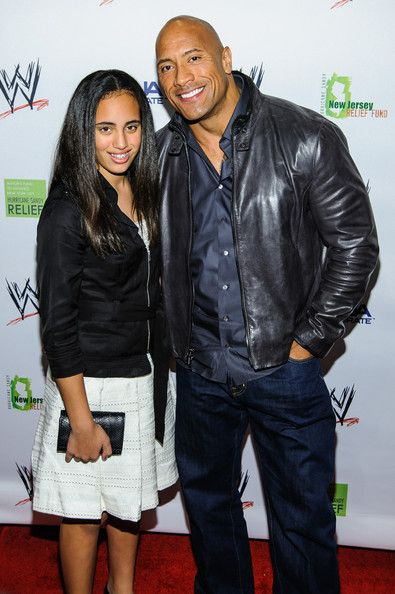 Dwayne Johnson & his Precious and Lovely Daughter.