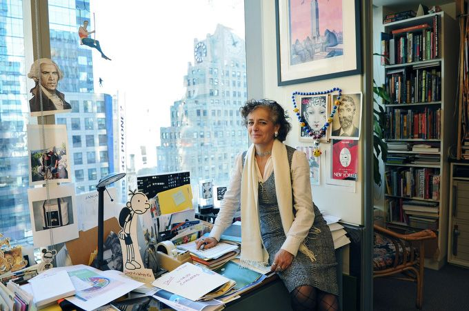 Françoise Mouly, The New Yorker's covers editor