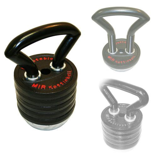 Mir  Pro 83lbs Adjustable Kettlebell From 10lbs to 83lbs  * You can get more details by clicking on the image.