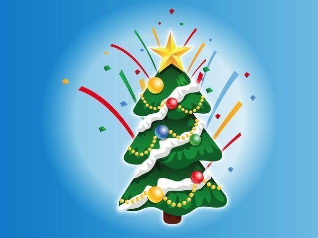 Decorated Christmas Tree Cartoon Cartoon Christmas Decorated Tree Cartooncart Cartooncar In 2020 Cartoon Christmas Tree Christmas Tree Decorations Colorful Decor