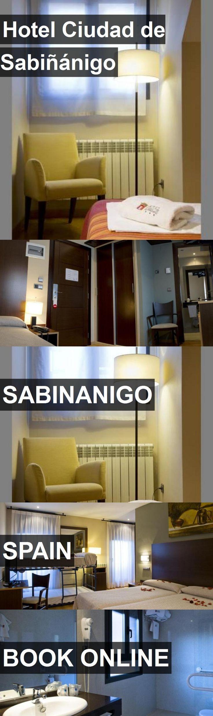Hotel Ciudad de Sabiñánigo in Sabinanigo, Spain. For more information, photos, reviews and best prices please follow the link. #Spain #Sabinanigo #travel #vacation #hotel