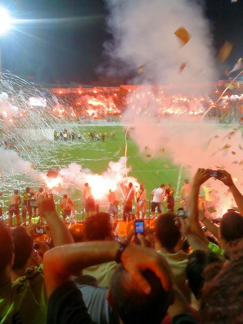 Best football fans EVER......ARIS THESSALONIKI