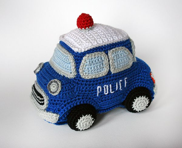 Police car - Amigurumipatterns.net