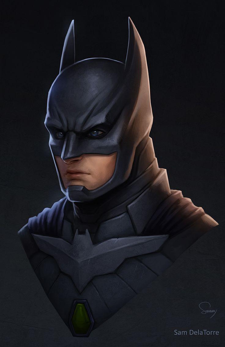 DC Trinity- Batman (Injustice 2) by SamDelaTorre