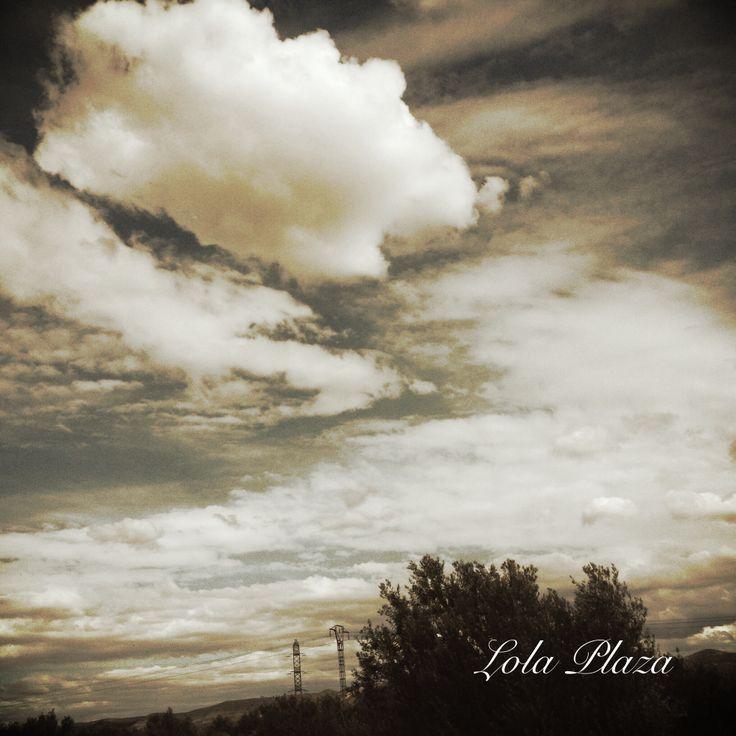 Entre nubes.
