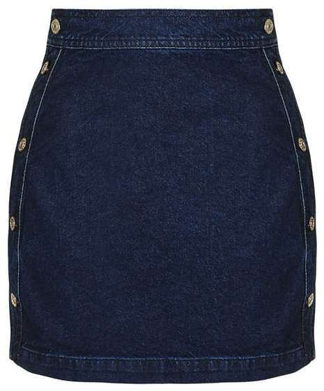 My 6 Favorite Denim Mini Skirts