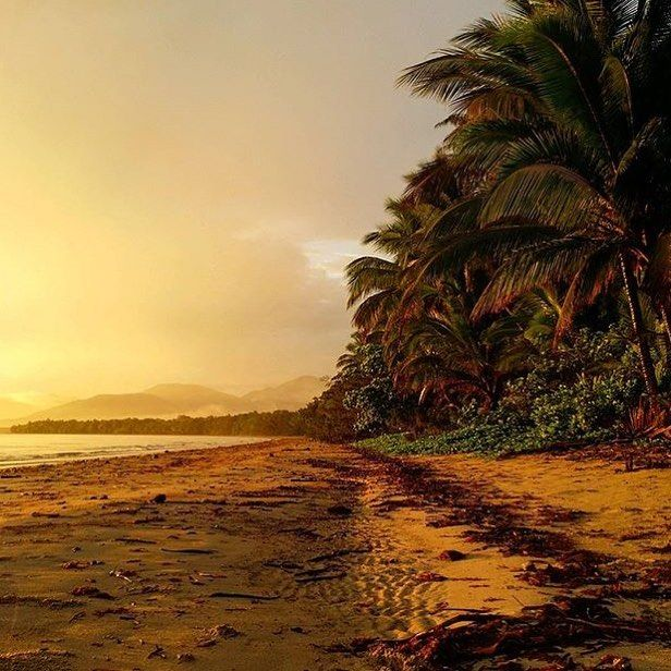 """124 Likes, 4 Comments - 🌴blog & accommodation🌴 (@awayinportdouglas) on Instagram: """"Sunrise at Four Mile Beach. This beautiful photo by @van_oostrum_photography. #fourmilebeach…"""""""