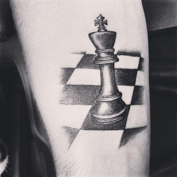 Rei do Xadrez   Tatuagem.com (tatuagens, tattoo)