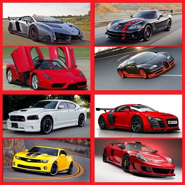 Best 30 Luxury Porsche Sport Cars Collections: Super Car Collage Love All These Cars!