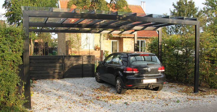 Flexys Straight carport | Flexys - designing living spaces