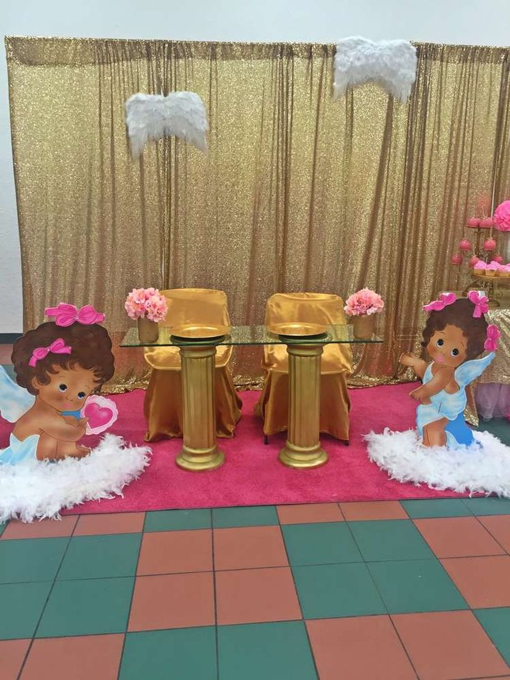 angel heaven baby shower party ideas baby shower parties babies