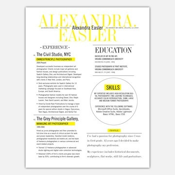 83 best dsgn resumes images on Pinterest Resume cv, Cv design - artist resumes