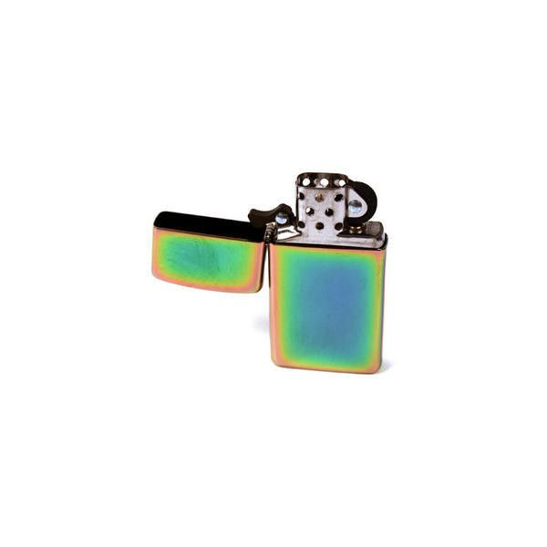 Zippo Spectrum Lighter Slimline Edition ($51) ❤ liked on Polyvore featuring home, home improvement, fillers, accessories, lighters, smoking and other