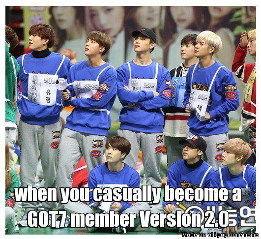 And the saga continues... Got7 BTS
