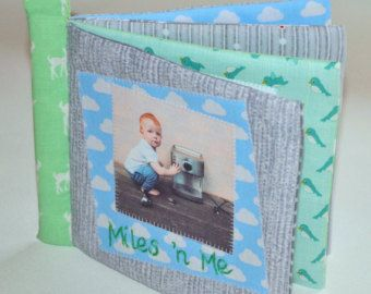Soft photo books for little people by ILoveSaturdayMorning on Etsy