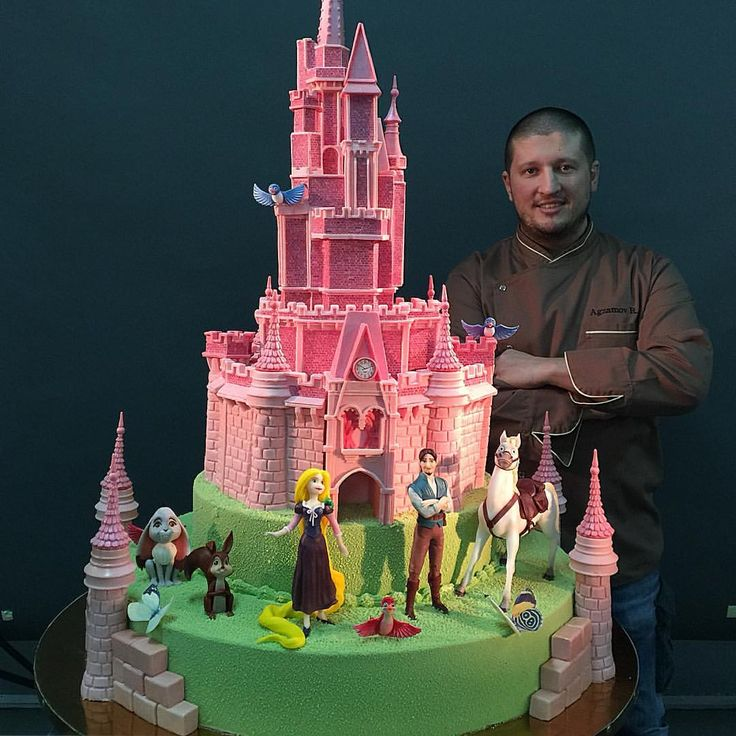 49.2 тыс. отметок «Нравится», 374 комментариев — Ренат Агзамов (@renat_agzamov) в Instagram: «Замок полностью приготовлен из Бельгийского шоколада! Торт для девочки на День Рождения.»