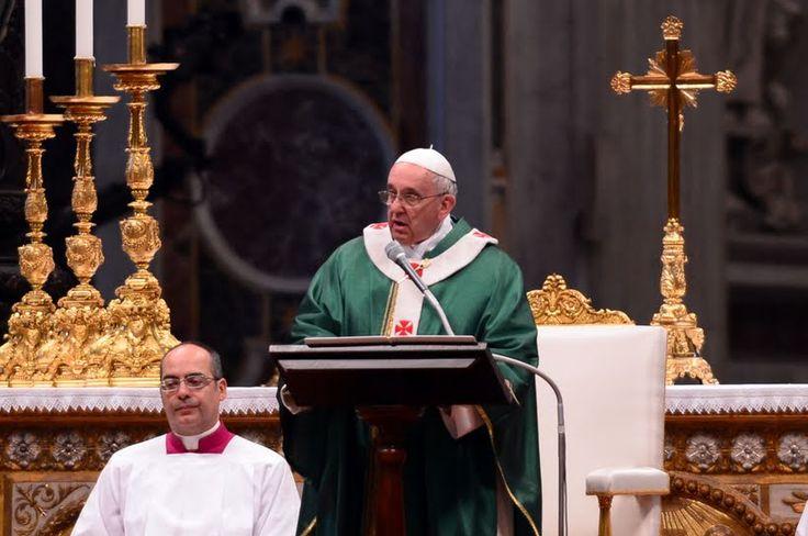 """Homilía de hoy 24 de febrero. Papa Francisco: Estar con Jesús es volver """"a casa"""", a la Iglesia"""