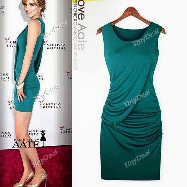 Интернет - магазины : Женская одежда, элегантное женское платье в коротк...