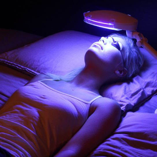 Dermatologists Have Been Using Blue Light Therapy To
