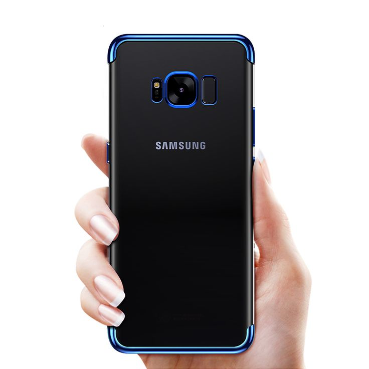 Bakeey plating Glitter Transparent Soft TPU Case For Samsung Galaxy S8 Plus