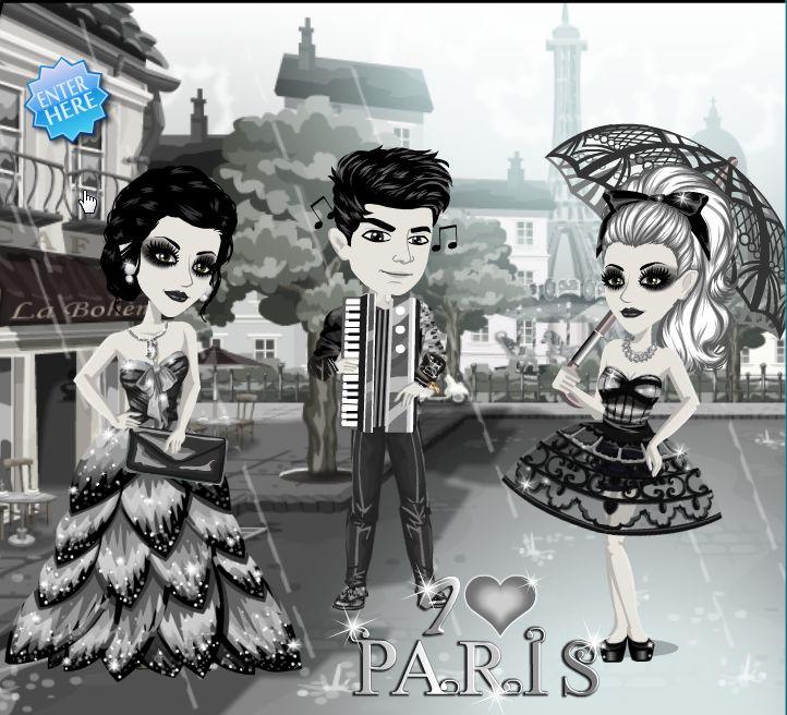 Who doesn't love Paris? The I love Paris theme on #moviestarplanet #MSP www.moviestarplanet.com