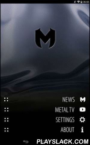 Metal (Free)  Android App - playslack.com , Get the latest heavy metal and hard rock news from the best sites on the world wide web in one app, like Blabbermouth and MetalStorm.This app was created for private use. But after being very happy with it publicly released on the Google Play Store. The main goal was to get a nice looking app with fast access to metal news without ads or other crap.The app will be in constant development so if something is wrong or you want to add a site, drop me a…