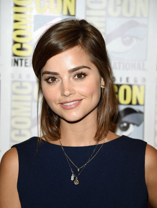 Jenna Coleman  Her Character was annoying but she is super cute.  #DoctorWho #Clara