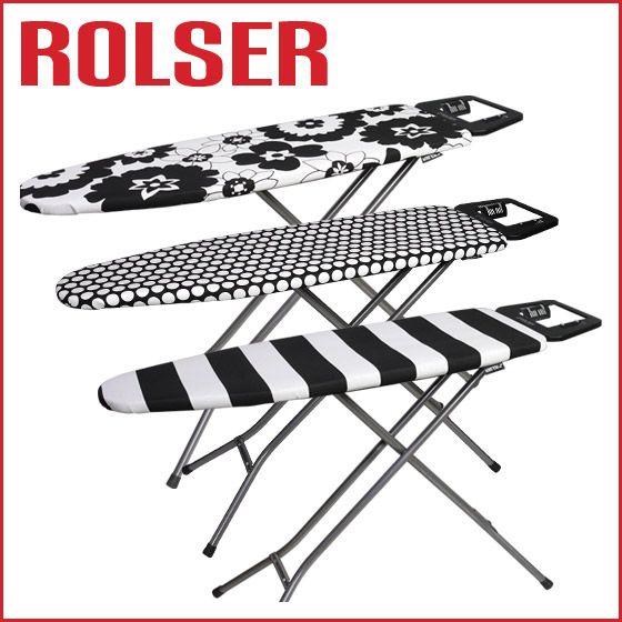 ROLSER ロルサー k-uno◆おしゃれな アイロン台 スタンド式 選べる3柄♪ スペイン発アイロンボード!高さ調節可能♪