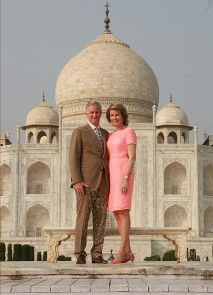 On November 06, 2017, Monday, on the first day of India, New Delhi state visit, King Philippe of Belgium and Queen Mathilde of Belgium visited Taj Mahal in New Delhi. The King and the Queen of Belgium currently make a 7 day state visit to India upon invitation of the President of India.