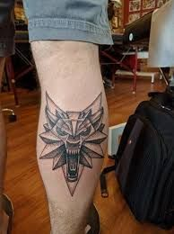 Резултат с изображение за the witcher tattoo