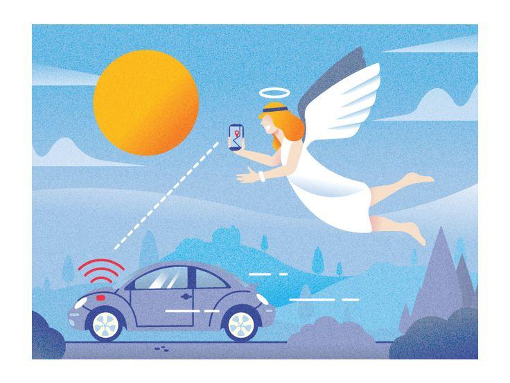 My-Gu(c)ardian-Angel - GPS car tracking system (Amis 2/17) by AQ Studio