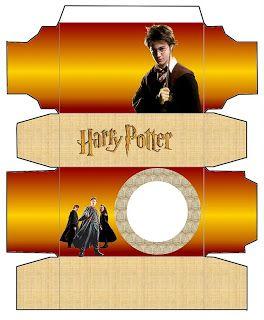 Harry Potter - Kit Completo com molduras para convites, rótulos para guloseimas, lembrancinhas e imagens!