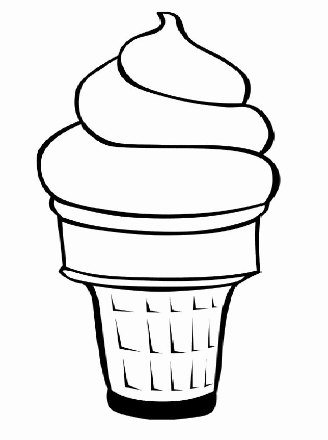 Coloring Page Ice Cream Best Of Free Ice Cream Cone Coloring Page Download Free Clip Art Coloriage Dessin Glace Glace Kawaii