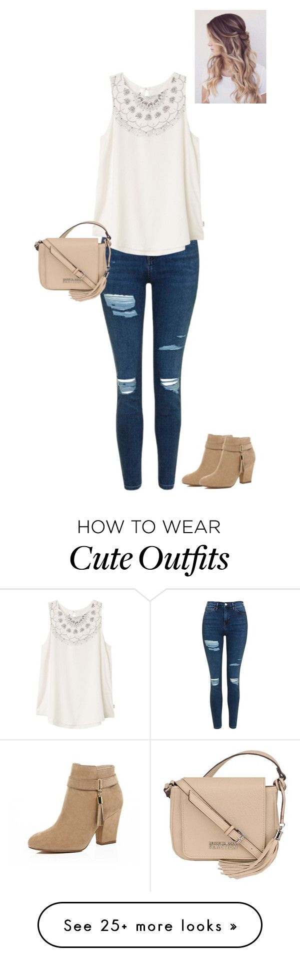 """Cute Summer Church Day outfit <3"" by loveisforever32 on Polyvore featuring Topshop, RVCA, River Island and Kenneth Cole"