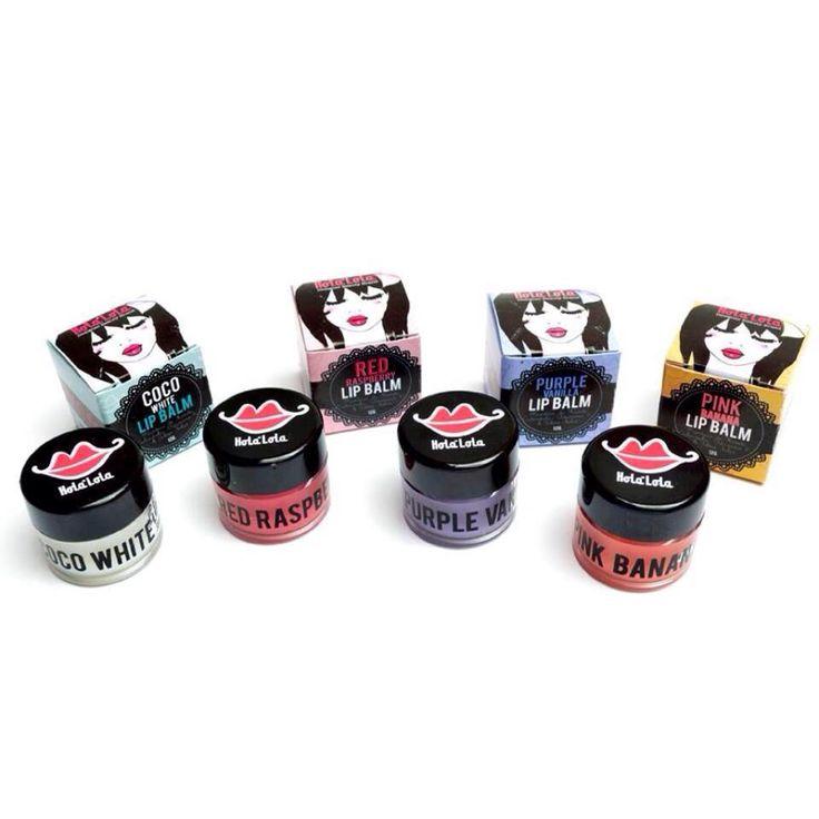 Super Lip Balms Con caléndula, karité, vitamina E y filtro solar www.holalola.com.co