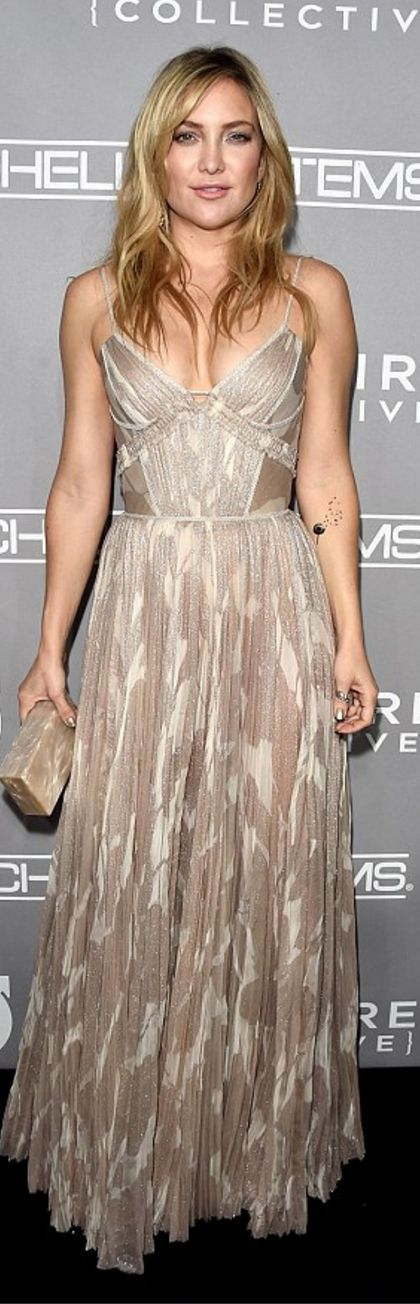 Dress – J. Mendel Purse – Edie Parker