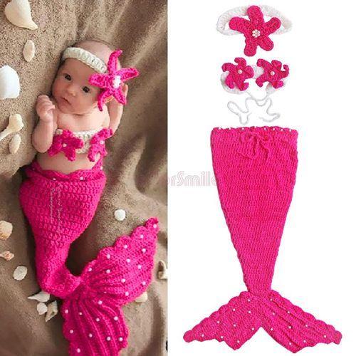 Crochet Mermaid set, not a pattern but some inspiration..