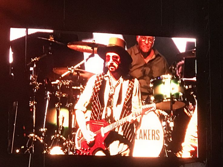 Mike Campbell playing with Tom Petty and the Heartbreakers - 40th Anniversary Tour; Arroyo Seco Weekend 6/24/2017. Pasadena, CA.