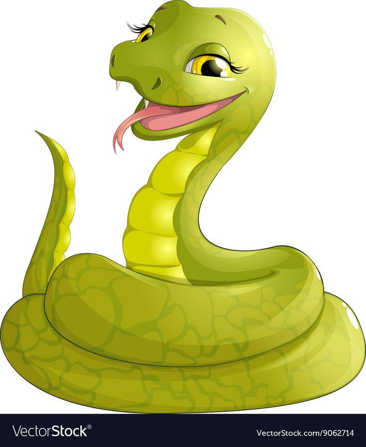 Прикольные картинки змей из мультика