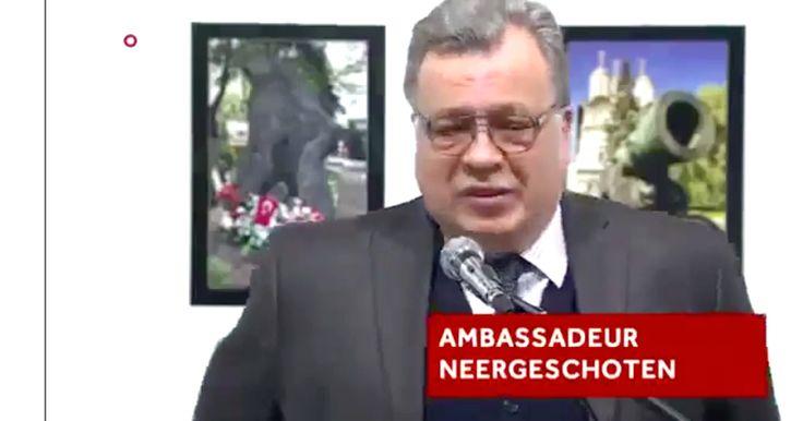 Raw Video: Russian Ambassador to Turkey Assassinated