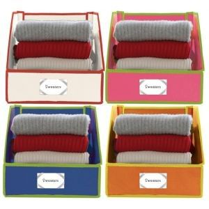 Sweater Bins Via Elements Of Style My Style Sweater Storage