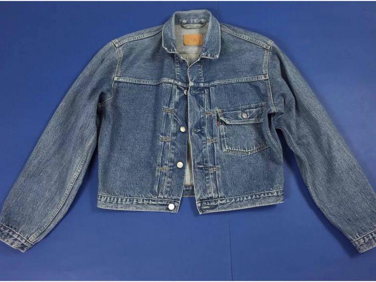 Un preferito personale dal mio negozio Etsy https://www.etsy.com/it/listing/536377280/levis-79501-01-14-giacca-jeans-jacket-l