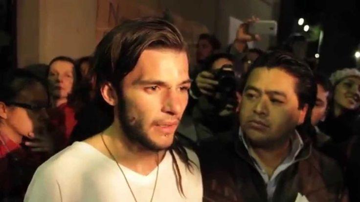 Liberación y declaración de Sandino Bucio y su madre / 29 nov 2014