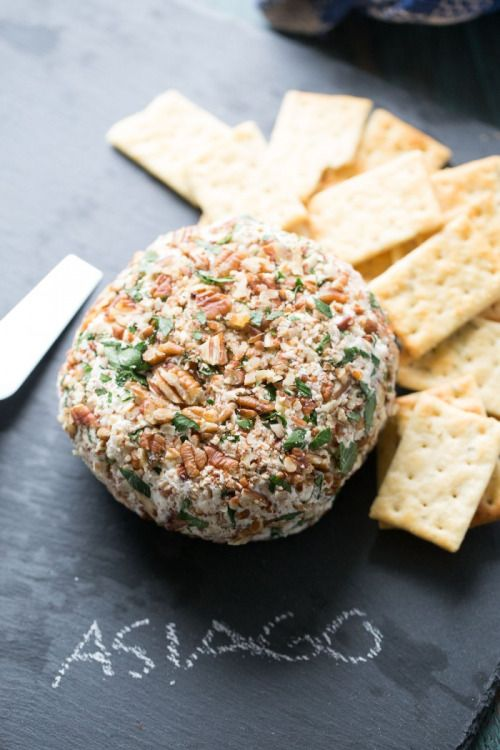 Roasted Garlic Asiago Cheese Ball Really nice recipes. Every  Mein Blog: Alles rund um Genuss & Geschmack  Kochen Backen Braten Vorspeisen Mains & Desserts!